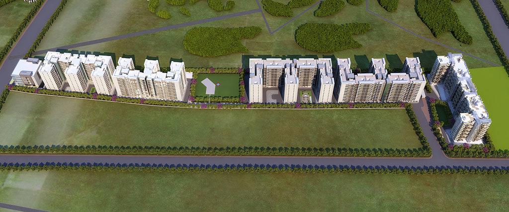 ganga new town 2.5 bhk flats for sale dhanori pune- goelganga