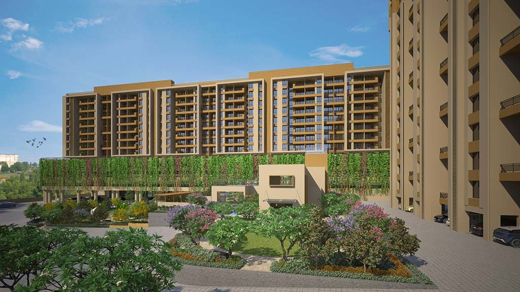Ganga amber 1bhk flats for sale in tathawade pune - goelganga