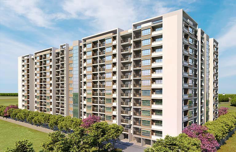 Ganga New Town 1bhk flats for sale dhanori pune- goelganga