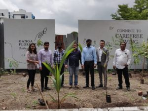 Highlights from Tree Plantation Drive Held at Ganga Florentina and Ganga Fernhill