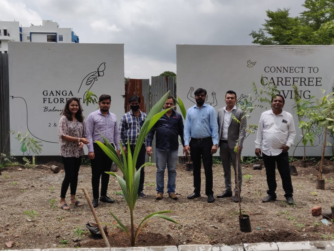 Highlights from Tree Plantation Drive Held at Ganga Florentina and Ganga Fernhill